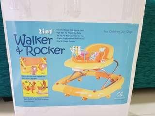 2in1 Walker and Rocker
