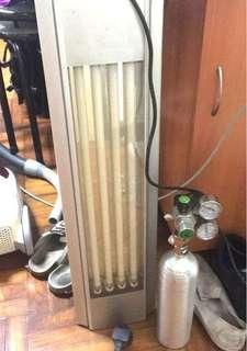水草燈一套/散放 T524W 4G+Co2 1L雙頭電子
