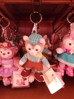 hkdl 香港迪士尼 2019 teaparty toni貓 吊飾