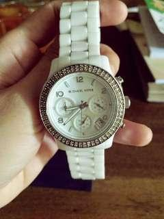 MK CERAMIC WITH STONE AUTHENTIC WATCH