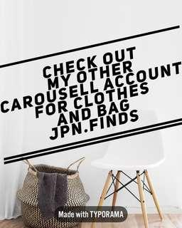 other account for clothes and bags jpn.finds