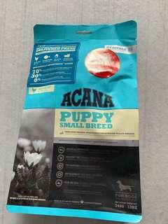 Selling cheap! Dog Food, Puppy ACANA Small breed.