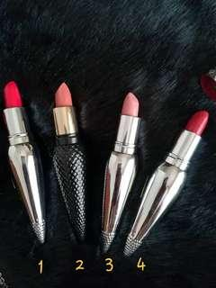 Lipstick inspired by Christian Louboutin