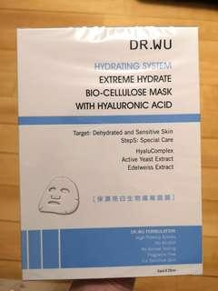 Dr. Wu 玻尿酸保濕亮白生物纖維面膜 Extreme Hydrate Bio-Cellulose Mask with Hyaluronic Acid