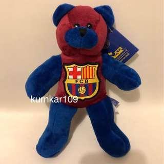 全新正貨 FC Barcelona Bear _(歐洲購入)