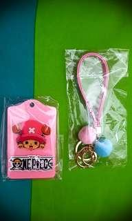 🚚 ONE PIECE chopper card holder with strap