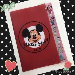 Mickey Mouse Plastic folder