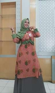 Batik Peach