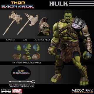 🚚 Mezco One : 12 Collective Ragnarok Hulk
