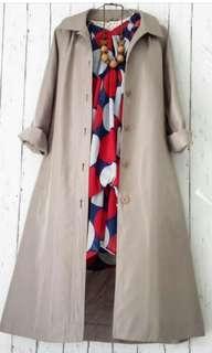 Coat/outer coklat
