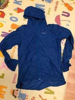 Patagonia wind jacket, 深藍色細碼薄身風褸