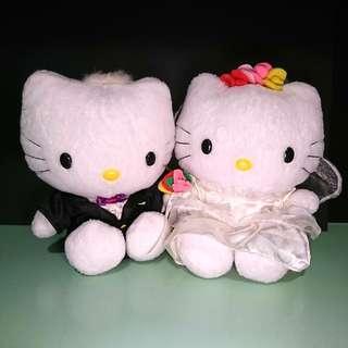 Hello Kitty & Dear Daniel 結婚公仔 (婚紗/燕尾服版)