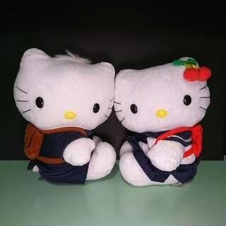 Hello Kitty & Dear Daniel 結婚公仔 (校服版)