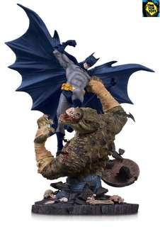 🚚 DC Collectibles - Batman vs Killer Croc Mini Battle Statue