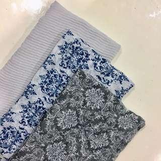 Pattern Wide shawl