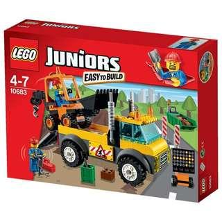 LEGO Junior 10683 Road Works. 132 pieces. #TRU50