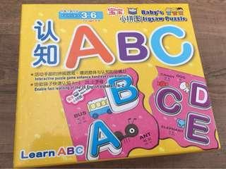 Baby ABC Jigsaw Puzzle