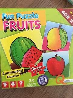 Fun Puzzle Fruits