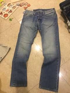 🚚 $900-❌謝絕假貨-全新hollister 牛仔褲