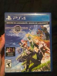 PS4 Sword Art Online: Hollow Realization