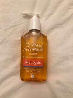 Neutogena Oil-Free Face Wash