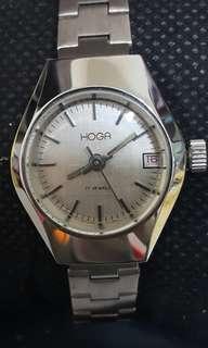 🚚 瑞士HOGA豪華機械女錶