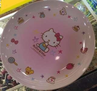 正品 Hello Kitty 瓷餐大碟