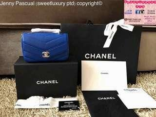 BRANDNEW CHANEL MINI FLAP CHEVRON CAVIAR