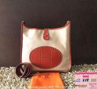 97% NEW HERMES EVELYNE GM 2