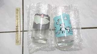 🚚 阿朗基變色玻璃杯 猴哥.熊貓哥款