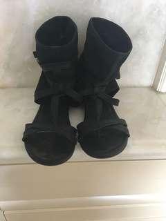 露趾包腳涼鞋