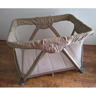 Nuna Sena Travel Cot with Extra Folding Mattress