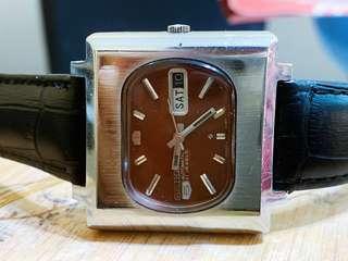 Seiko 5 tv vintage watch ( rare ) Automatic