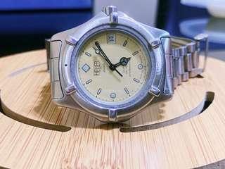 Heuer ( Tag Heuer ) Vintage Watch Quartz 200 professional ( Good Condition Nego )