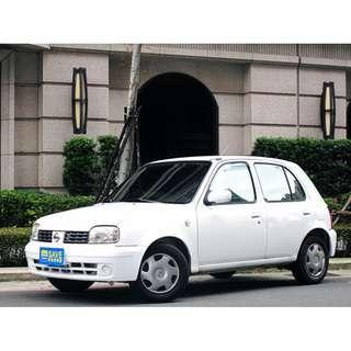 售07年March 僅跑5萬多公里 全程原廠保養 全車原鈑件 一手女用車
