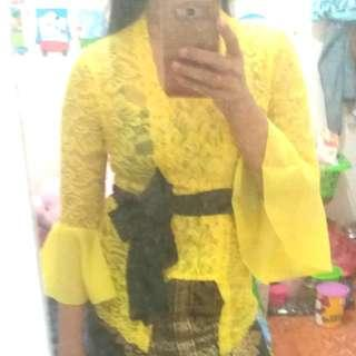 Kebaya Warna Lemon
