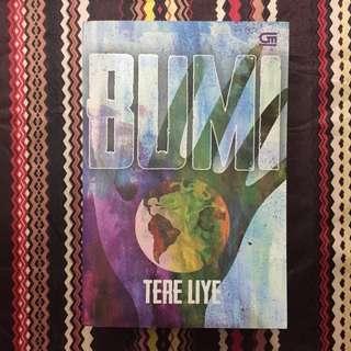 Novel Bumi karya Tere Liye