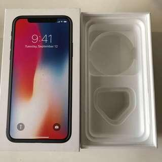iPhone X 256GB (box only)
