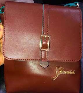 🚚 Guess Brown Sling Bag
