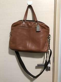 Authentic Coach Leather Bag F70354