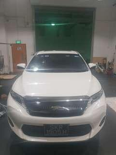 Toyota Harrier for rent