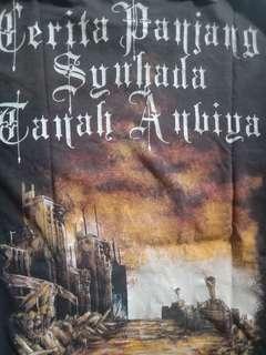 Baju black metal syuhada