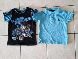Boy T-shirt 4-5Y rm 8