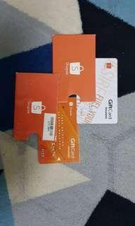 Shopee Themes Petronas Gift Card #TRU50