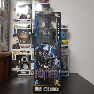 🚚 Black Panther action figure (Titan Hero Series)