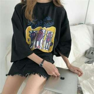 Oversize korea br sekali pakai