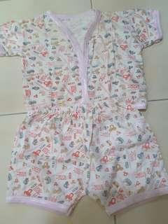 Baju bayi (pink)