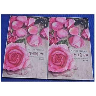 Rose Sheet Mask