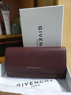 Authentic and BN Givenchy Pandora Long Flap Wallet