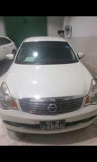 Nissan Sylphy got rent